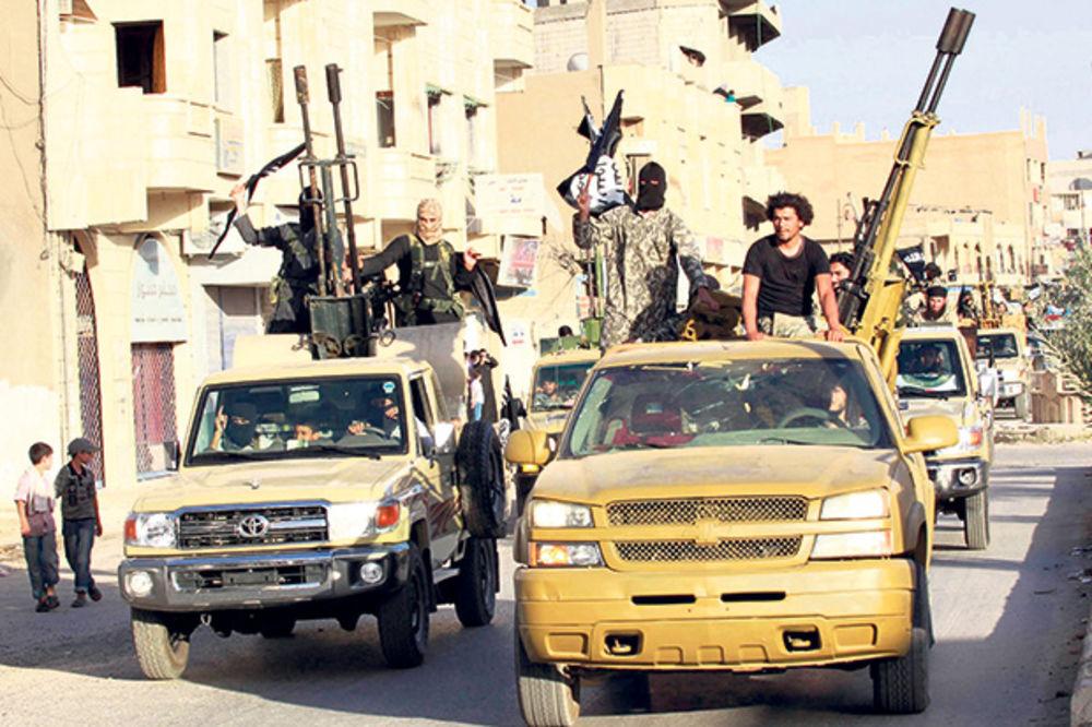 Džihadisti IS osvojili pola Sirije