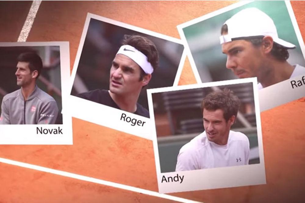 SLIKA KOJA JE OBIŠLA SVET: Velika četvorka svetskog tenisa kada je bila mala!