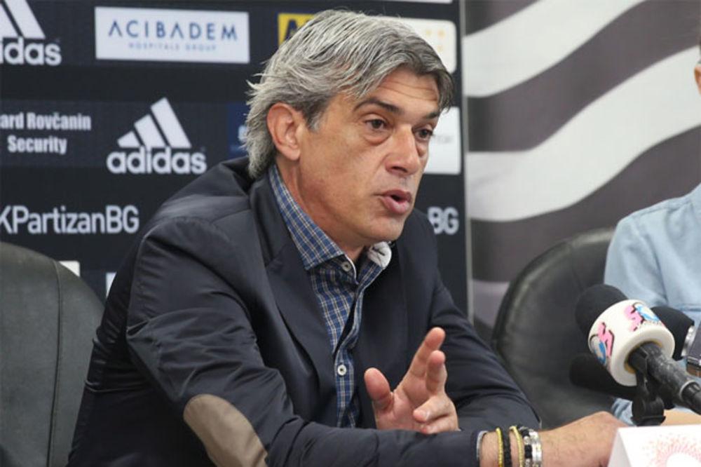MILINKOVIĆ POSLE PORAZA OD ČUKE: Bio je muk u svlačionici, majica Partizana je teška