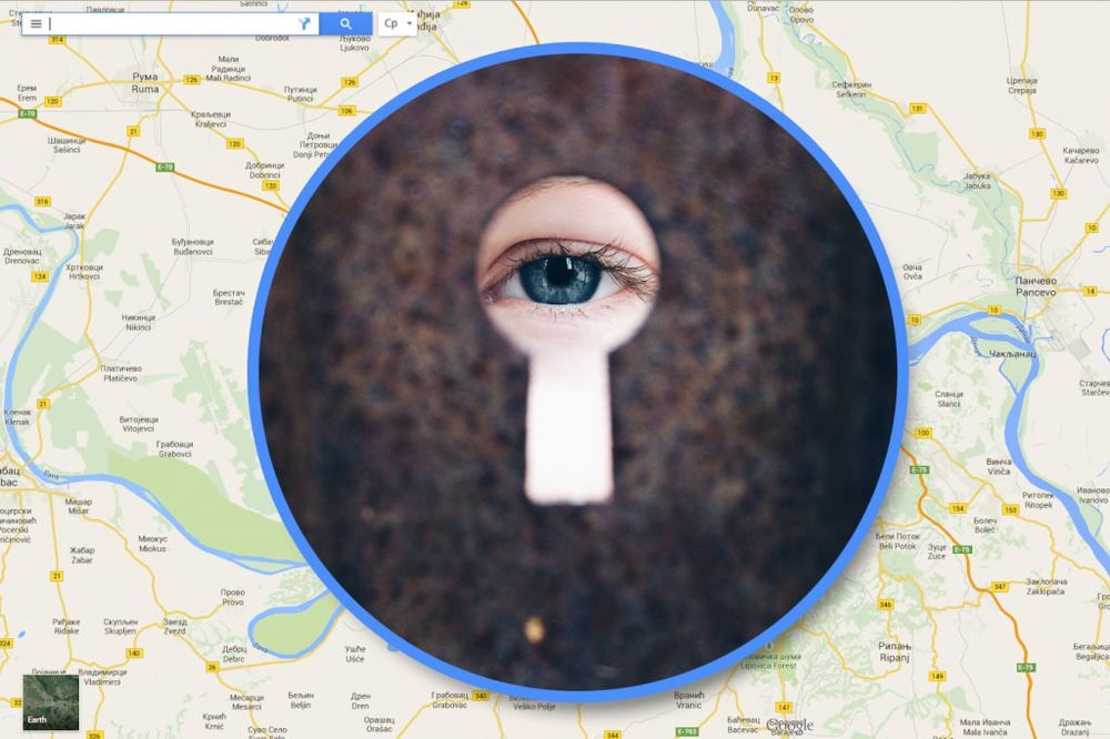 ŠOKIRAĆE VAS REZULTATI: Ukucajte svoje ime u Gugl mape i proverite šta sve znaju o vama!