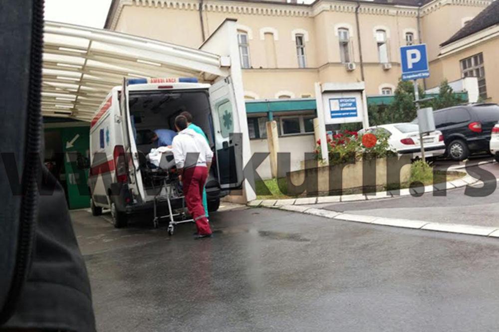 DEČAK (4) PAO SA TERASE U VALJEVU: Mališan u komi, lekari u Tiršovoj bore se za njegov život