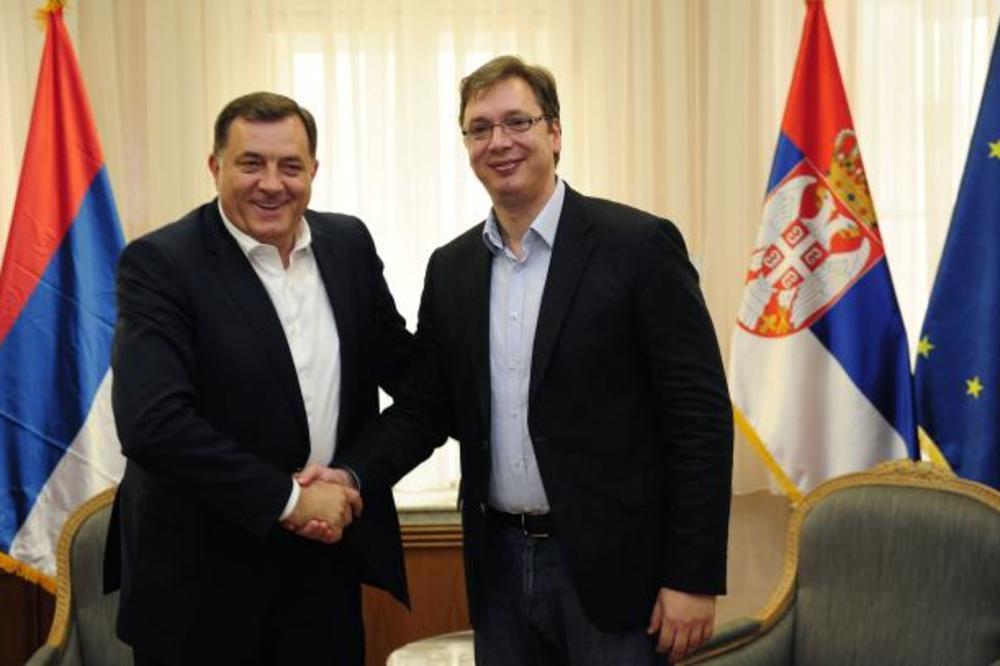 DODIK KOD VUČIĆA: Uskoro zajednička sednica Vlada Srbije i RS