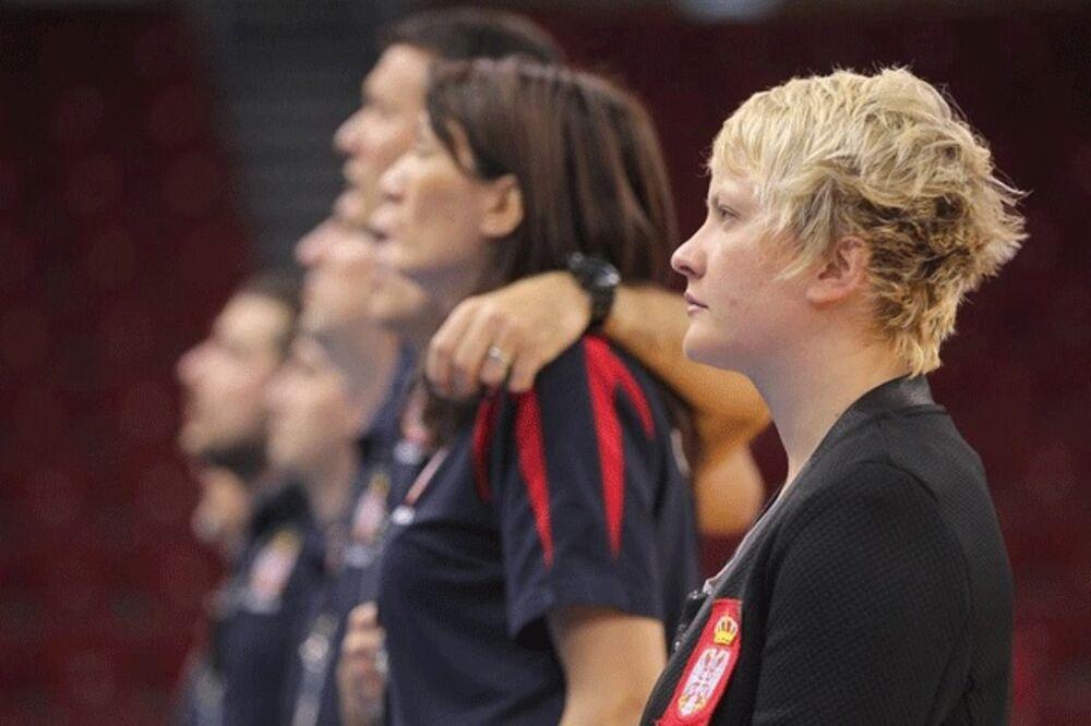 PREKRETNICA: Selektor Marina Maljković proverava kapacitet igračica protiv Australije