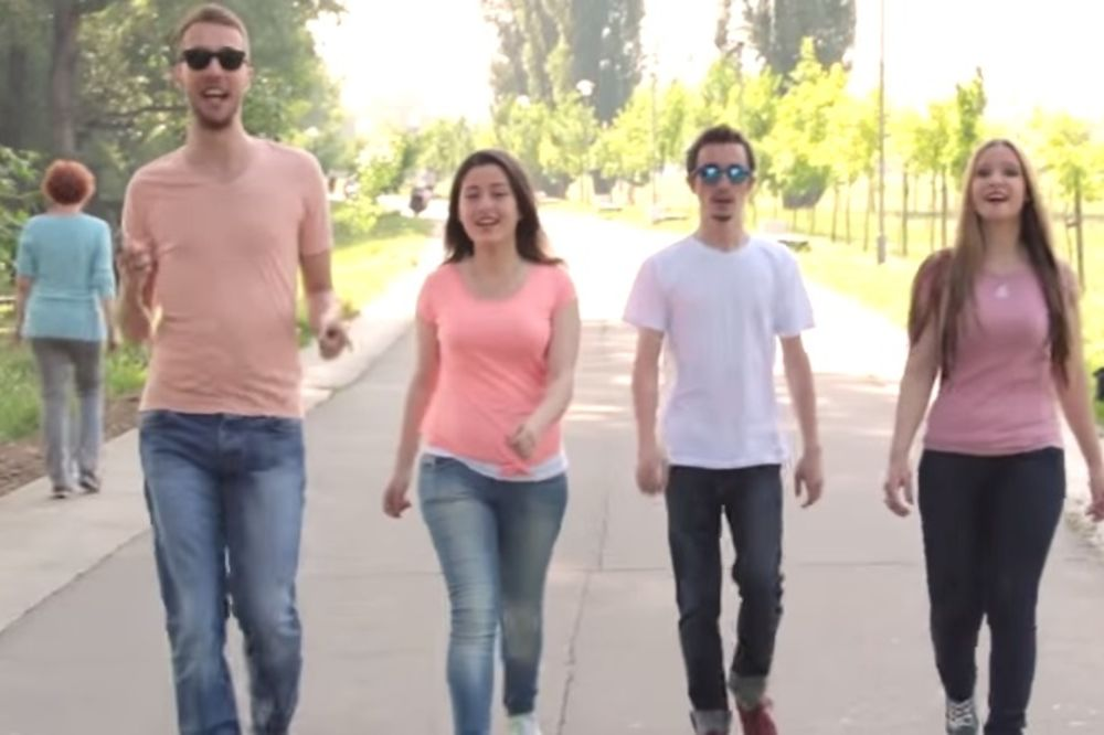 (VIDEO) NAĐI NEKOG I LJUBI SE SATIMA: Vocal 5 obradio Severininu Italianu!