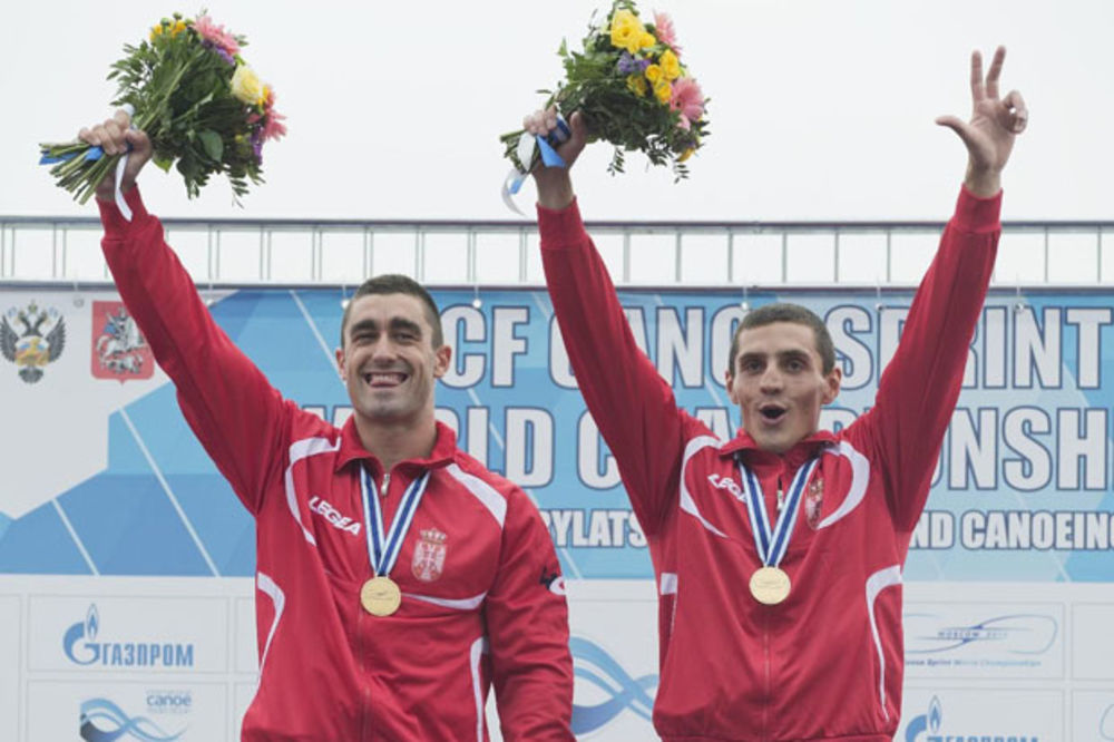 BRAVO MOMCI: Grujić i Novaković osvojili zlato na Svetskom kupu u kajaku