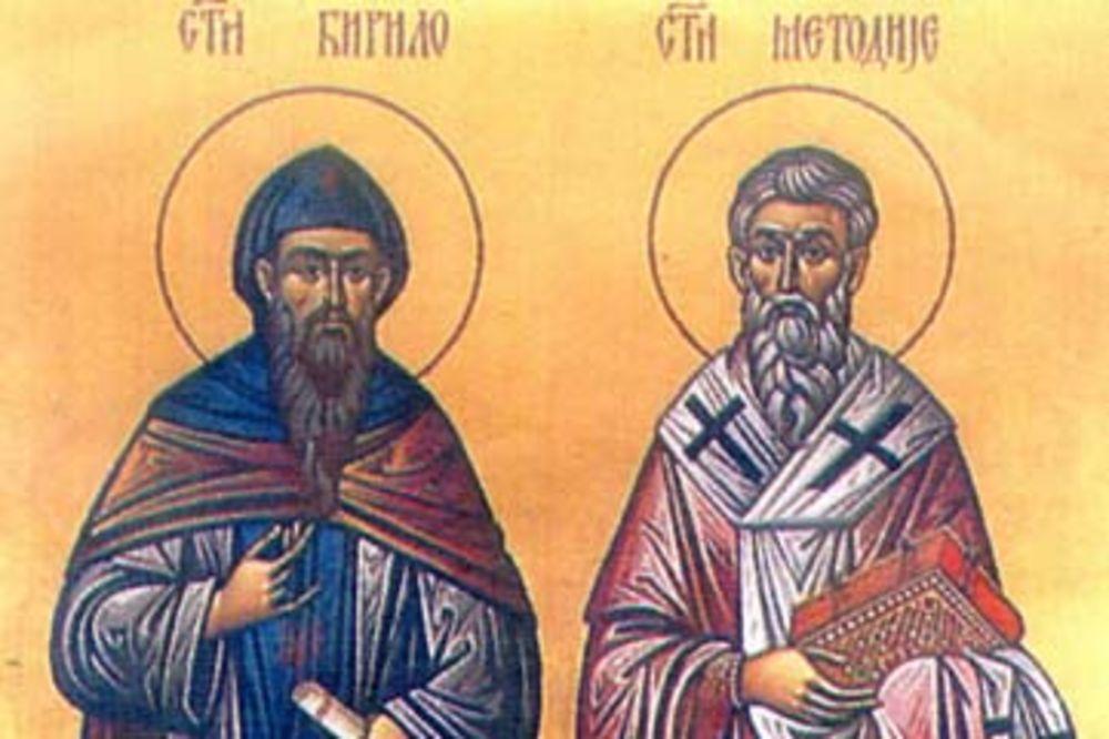 DANAS SU SVETI ĆIRILO I METODIJE: Oni su opismenili Slovene i stvorili glagoljicu