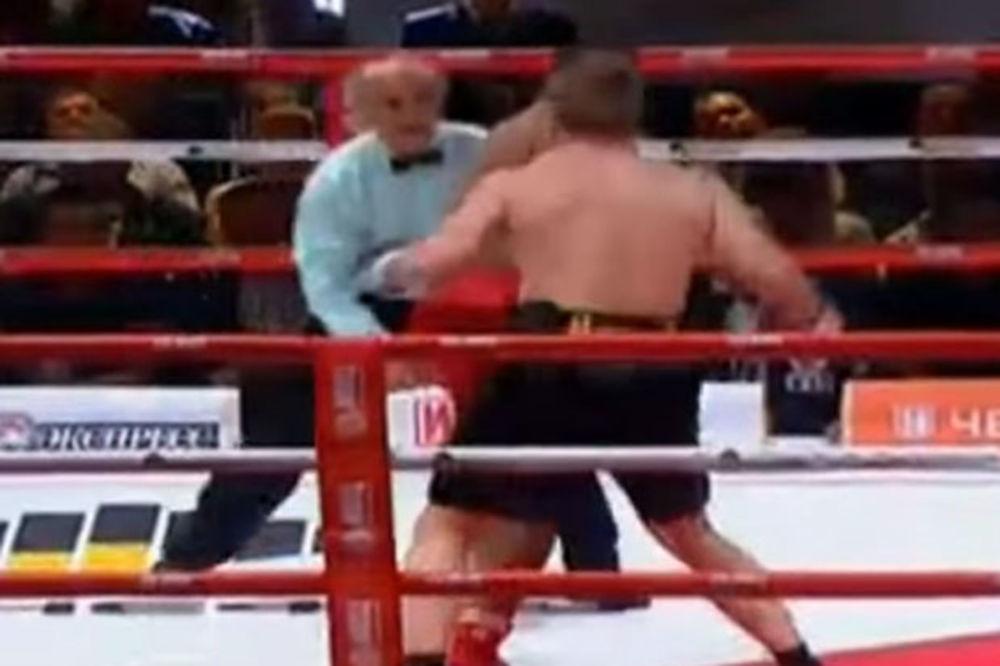 (VIDEO) NESTAO ZA 90 SEKUNDI: Rus Povjetkin nokautirao Pereza već u prvoj rundi
