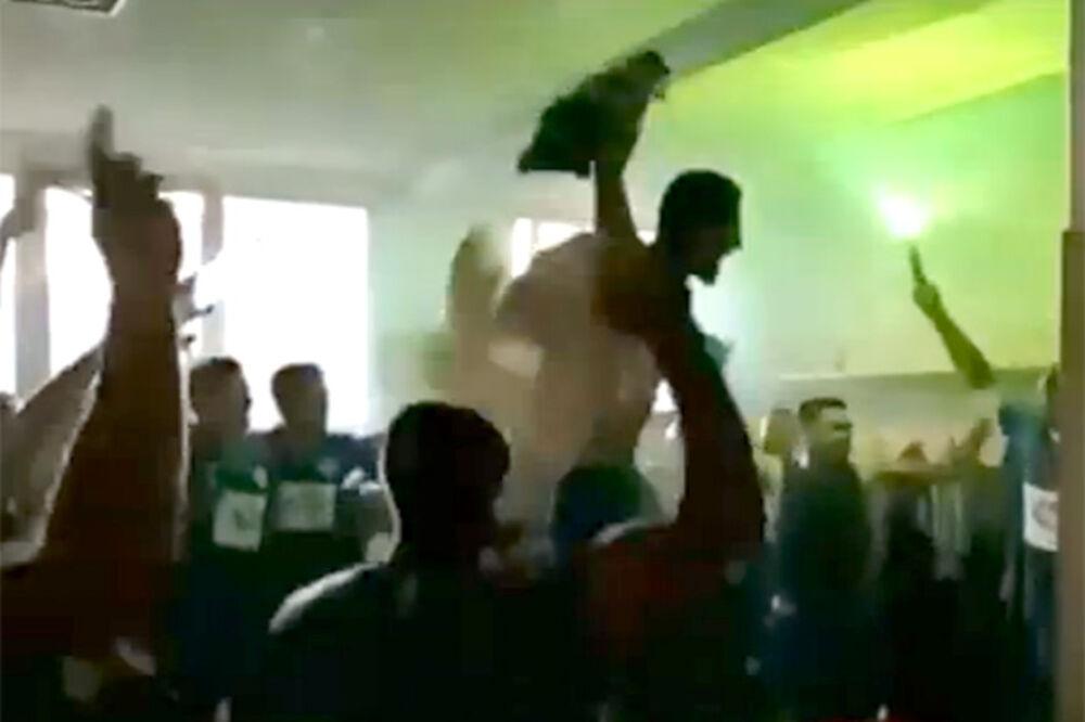 (VIDEO) LUDILO U SURDULICI: Tončev slavio plasman Radnika u Superligu