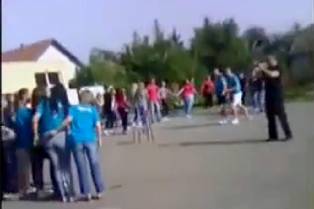 (VIDEO) ĆIRILICA ŽIVI I U VUKOVARU: Proslavili maturu uz užičko kolo