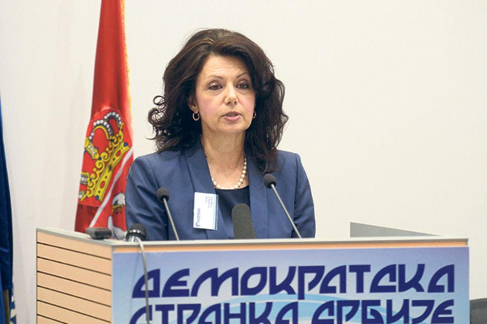 RAT U DSS Sanda Rašković: Mladenović treba da podnese ostavku!