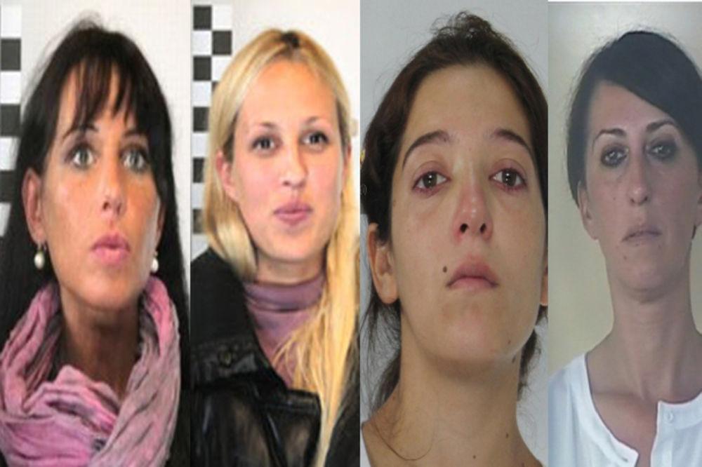 Ove četiri srpske lepotice vukle su za nos italijansku policiju