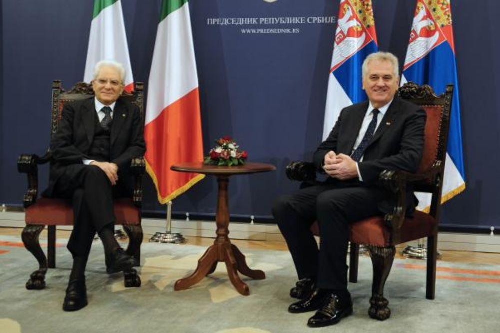MATARELA U BEOGRADU: Italija za što skorije otvaranje poglavlja u pregovorima Srbije i EU