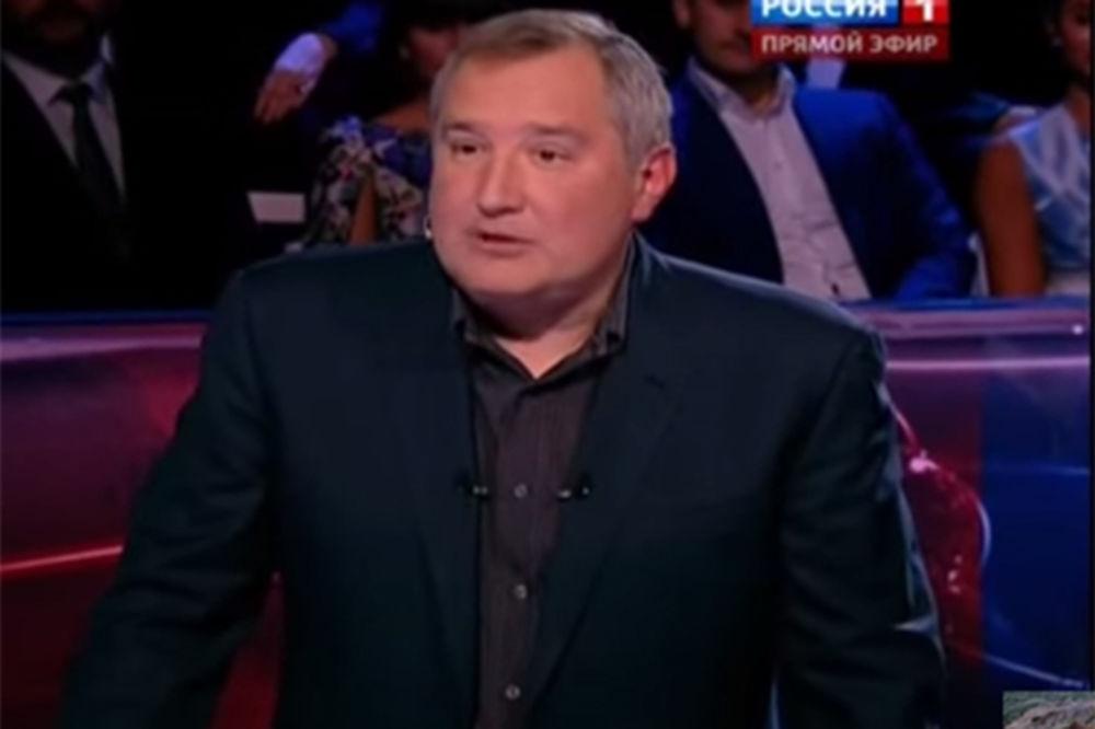 (VIDEO) DMITRIJ ROGOZIN O SANKCIJAMA: Tenkovima ne treba viza za Evropu!