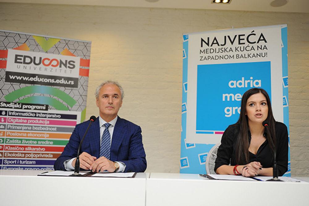 Adria Media Grupa i Univerzitet EDUCONS pokreću projektno studiranje!
