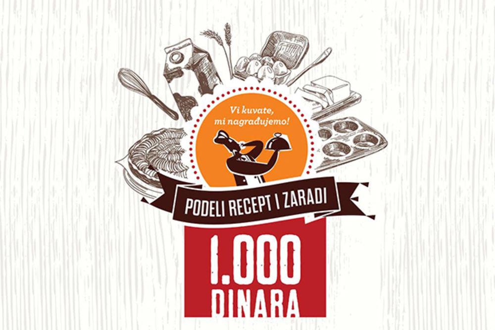KURIR KUVAR NAGRAĐUJE: Podeli recept i zaradi 1.000 dinara