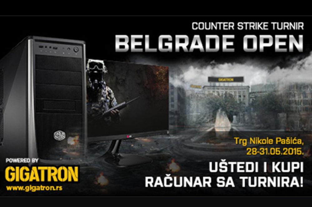 Gigatron uređaji na turniru Belgrade Open 2015