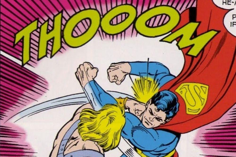 (VIDEO) KAD TE TRESNE SUPER HEROJ: Šta bi se desilo da vas udari Superman u stvarnom životu