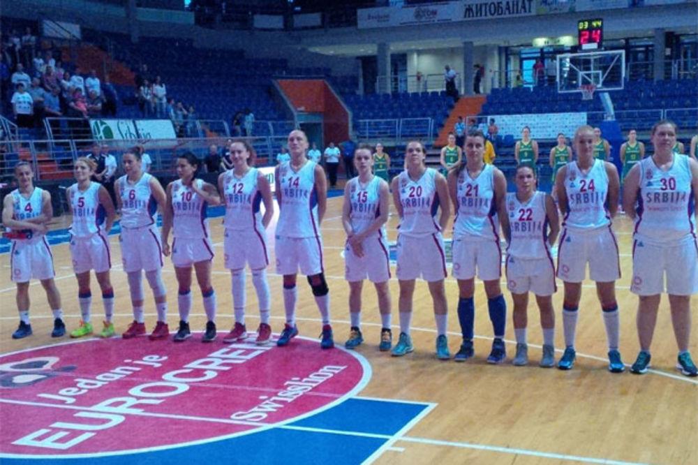 DOBRA UVERTIRA ZA EP: Košarkašice Srbije ponovo pobedile Australiju
