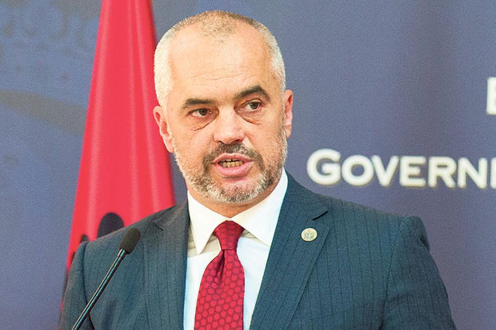 Edi Rama: Mi bismo zajedno sa Srbijom