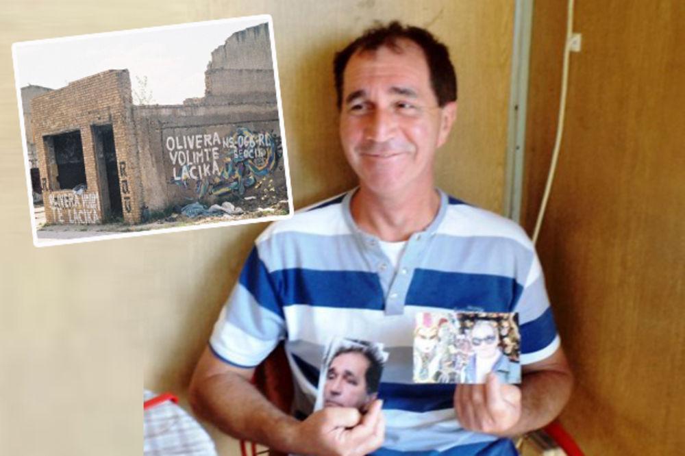 (FOTO) BOLJE DA JE DONEO CVET: Novosađanin (55) joj pisao ljubavne grafite, a ona ga pretukla!