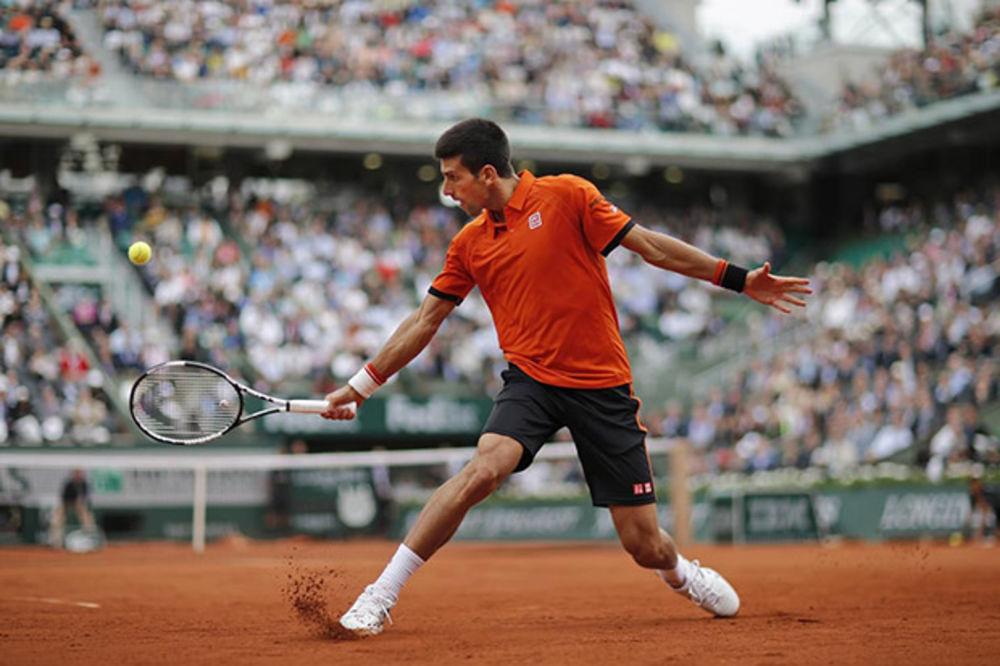 USPEŠAN START: Đoković zadovoljan pobedom, nije želeo da priča o Nadalu