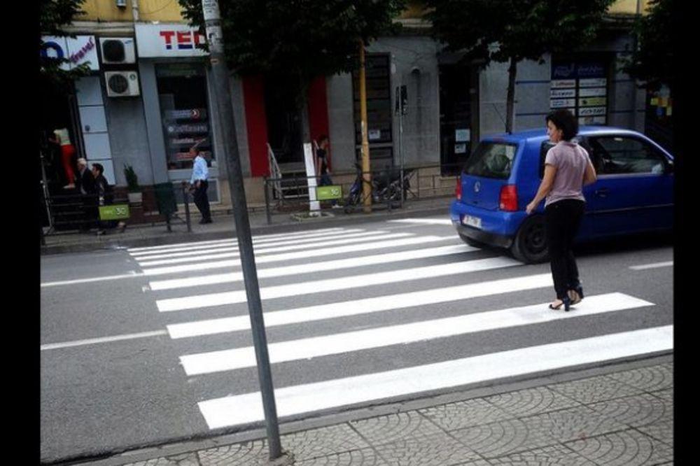 ŽITELJI TIRANE: Hvala Vučiću što je došao! Sada imamo 5 pešačkih prelaza!