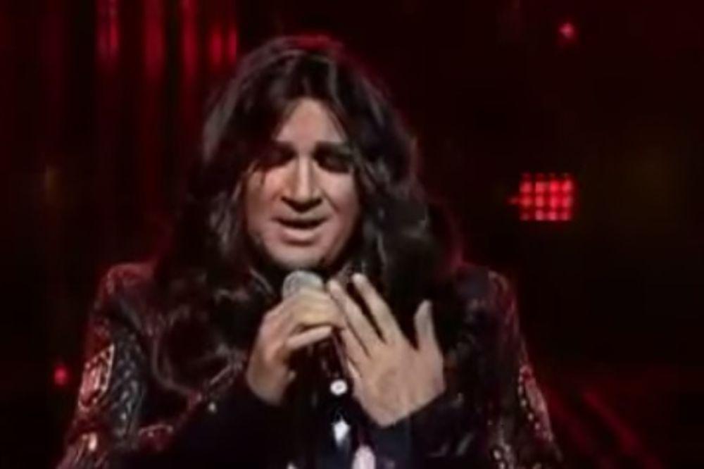 (VIDEO) AZIS ISTI CECA: Bugarski pevač pevao Kukavicu u takmičenju i oduševio sve!