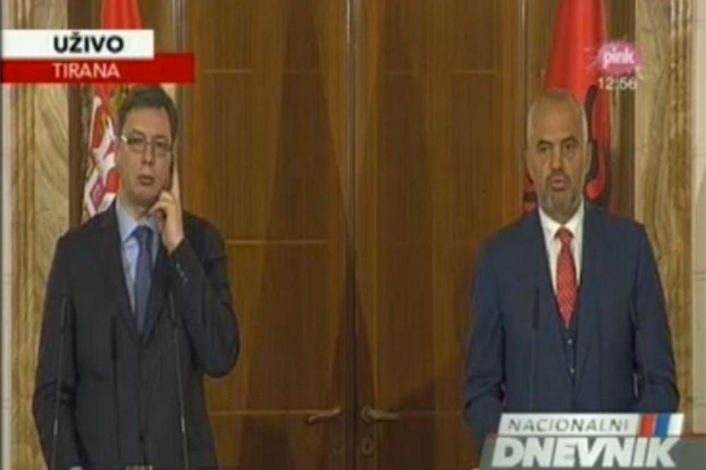 (UŽIVO) RAMA OPET PROVOCIRA: Dati ista prava Albancima u Preševu kao Srbima na severu Kosova!