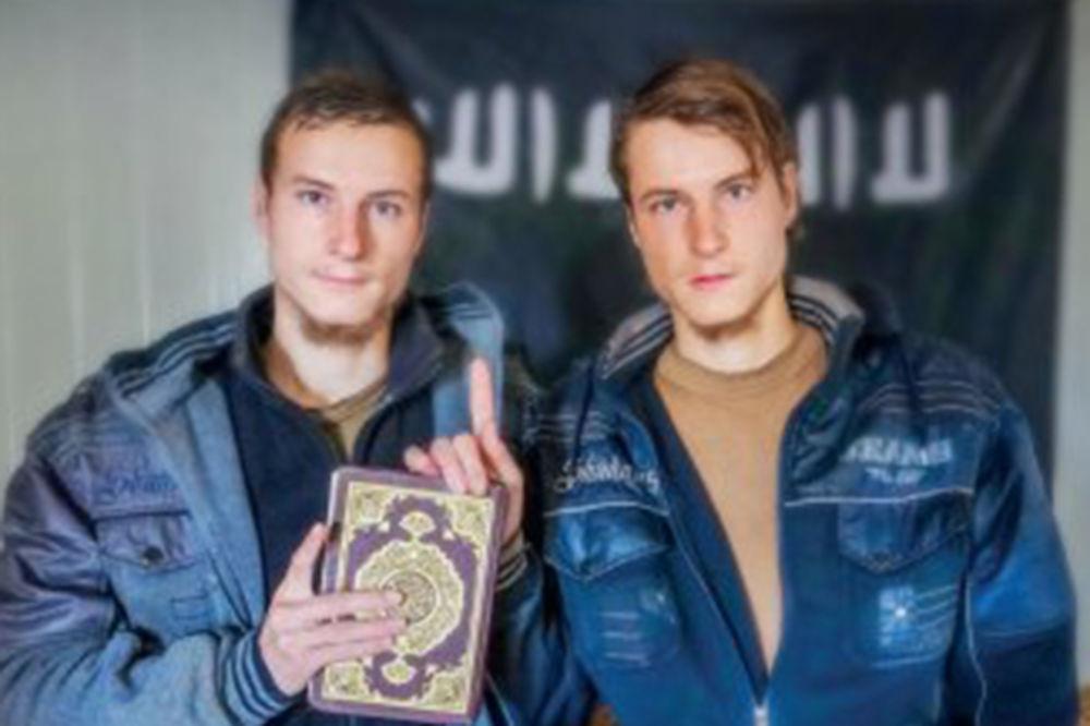 ZA KOGA SU ONI DALI GLAVE: Plavooki blizanci iz Nemačke skonačli kao mučenici ISIL!