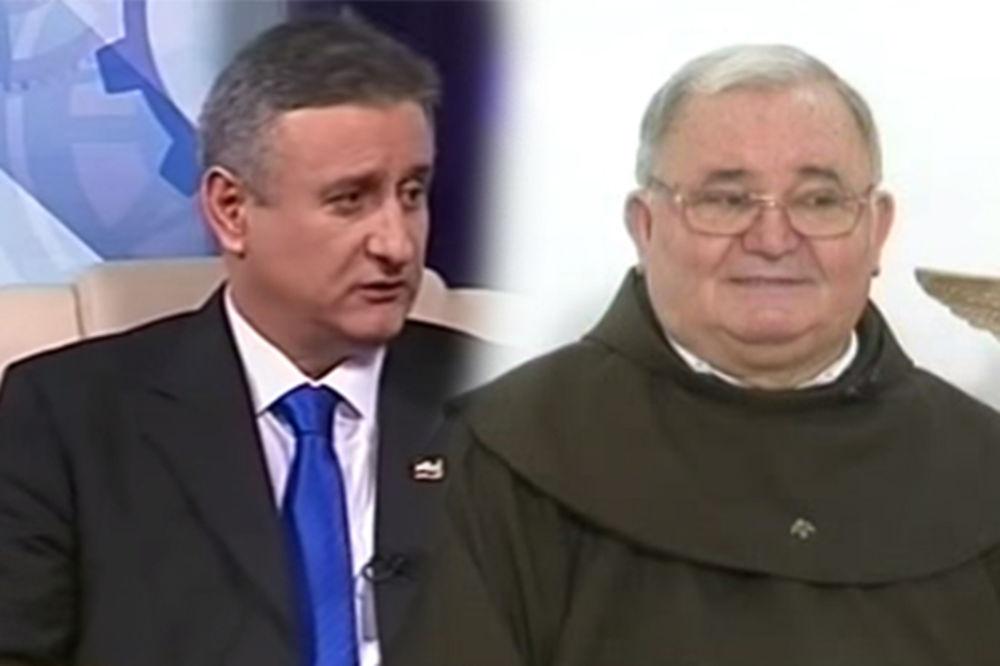(VIDEO) BILO JE SAMO VENČANJE: Čuveni isterivač đavola venčao predsednika HDZ