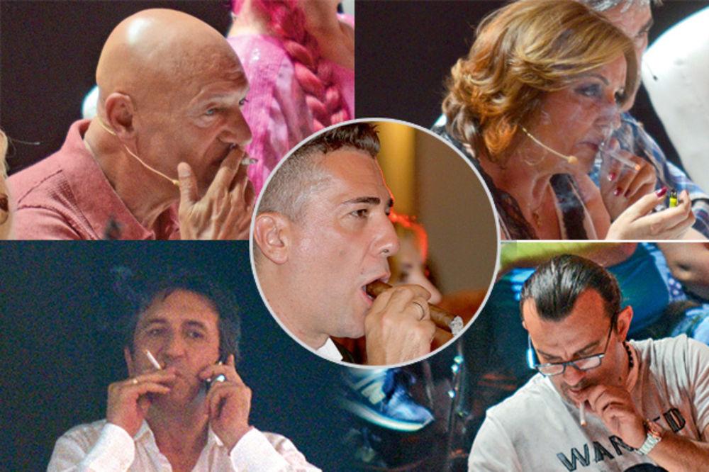 VOLE DA PUŠE: Ove estradne zvezde ne vade cigaretu iz usta!
