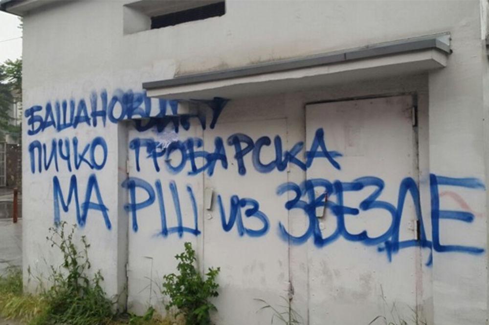 (FOTO) PAO ZBOG PARTIZANA: Pogledajte grafit Delija zbog kog je Zvezdin funkcioner podneo ostavku