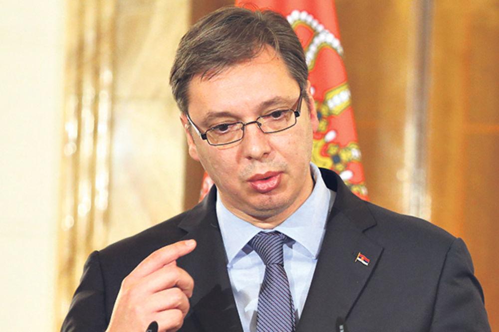 Vučić: O priznanju Kosova se priča samo u Tirani i Prištini