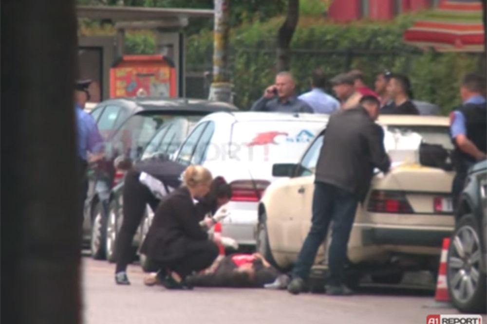 VIDEO PUCNJAVA U TIRANI: Trojica pokošena rafalom u centru grada