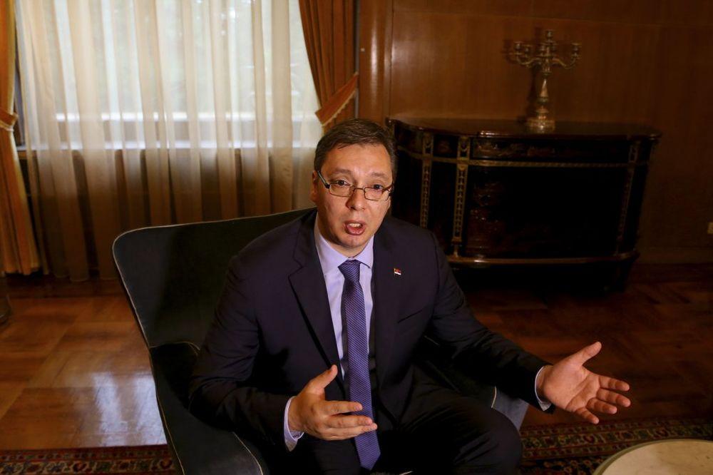VUČIĆ: Srbija ne razmišlja o priznanju Kosova, o tome samo pričaju Tirana i Priština