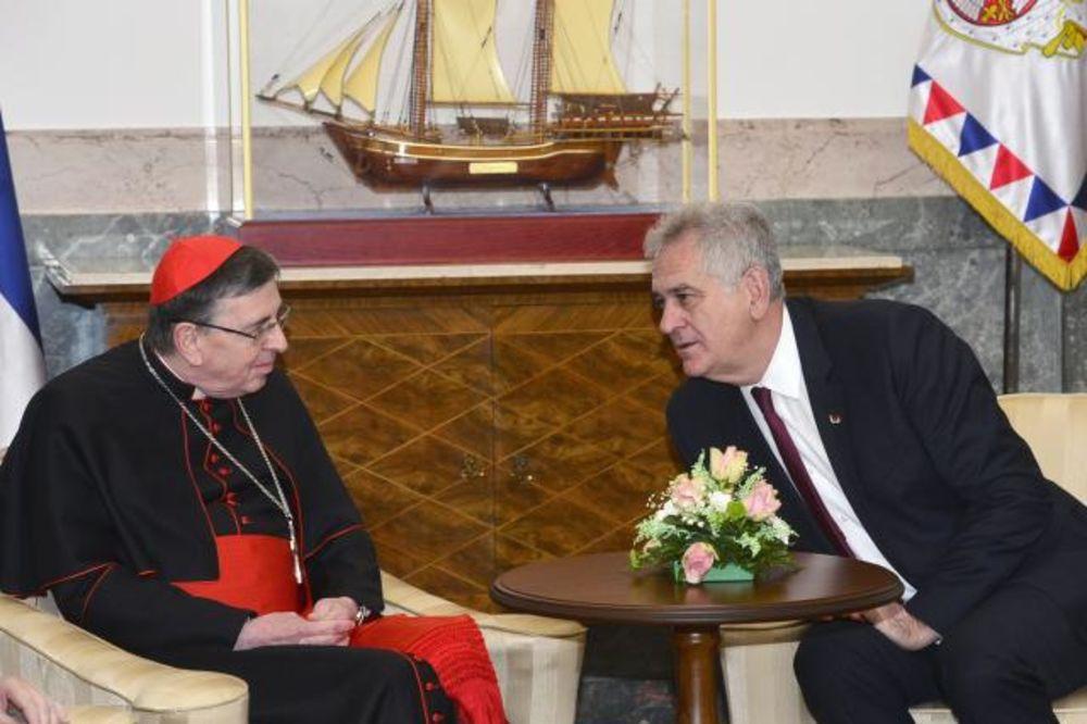 PAPIN IZASLANIK KOD NIKOLIĆA: Stepinac kao svetac narušio bi odnose s Hrvatskom