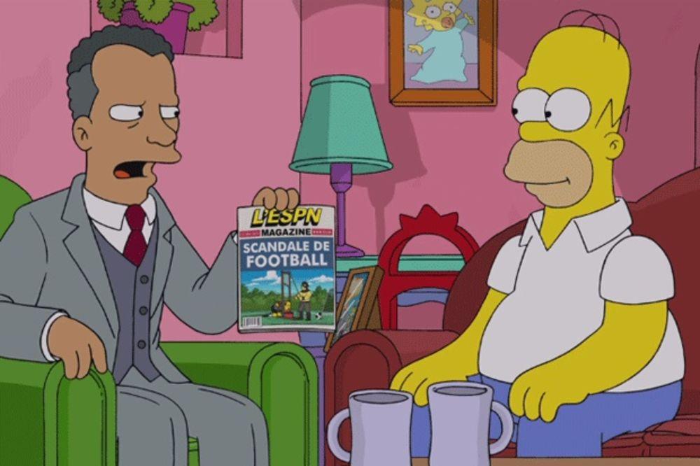 (VIDEO) VIDOVNJAK: Homer Simpson još prošle godine najavio hapšenja u FIFA