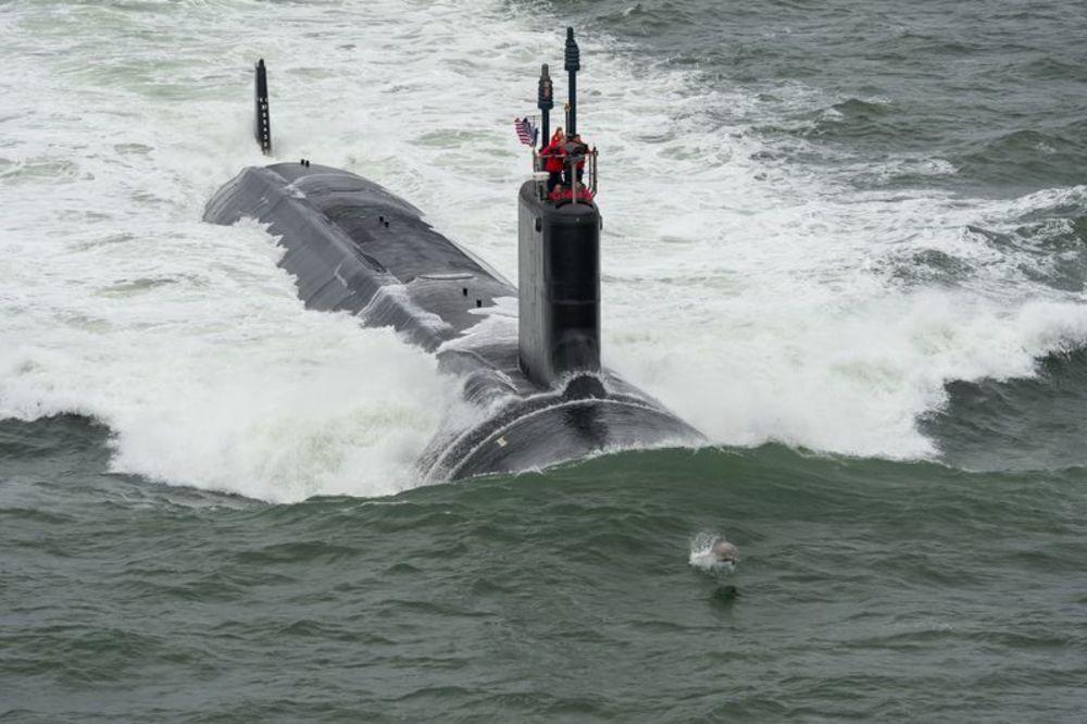 (VIDEO) ODMERAVANJE SNAGA: Presretnuta američka nuklearna podmornica! Ali, nije ono što mislite...