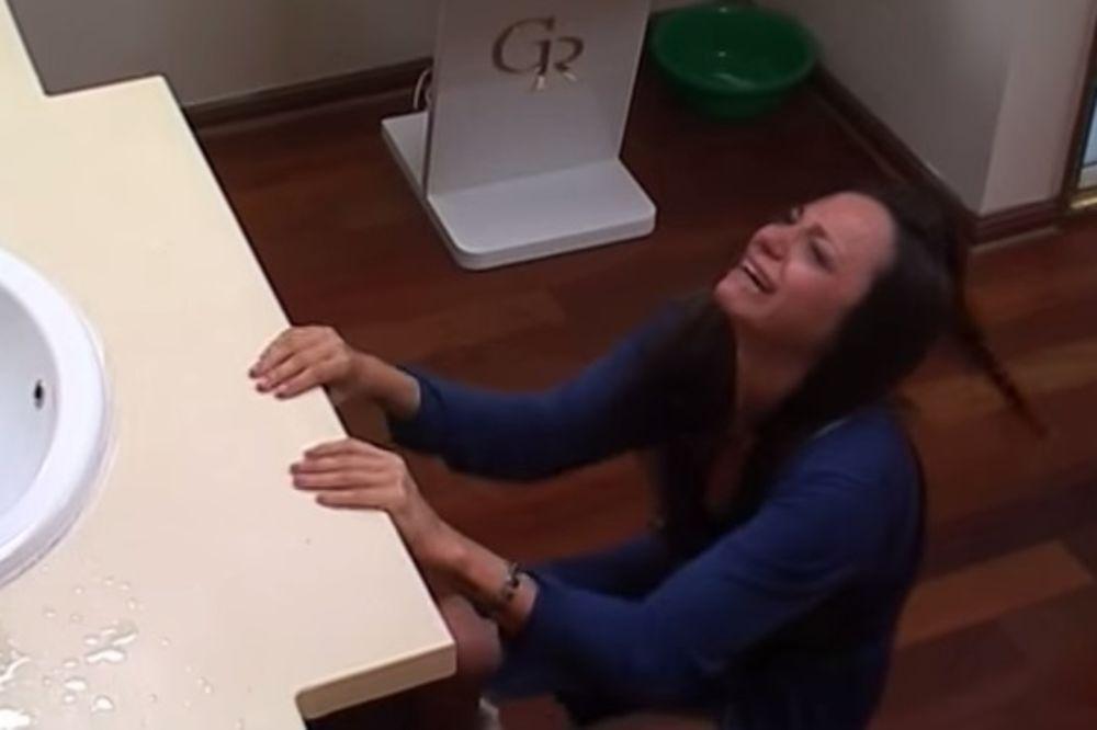 (VIDEO) RUŽICA IMALA HISTERIČAN NAPAD: Vrištala i plakala zbog Igora!
