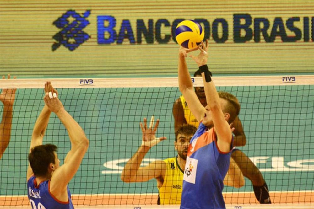 ORLOVI PALI POSLE DRAME: Srbija poražena od Brazila na startu Svetske lige