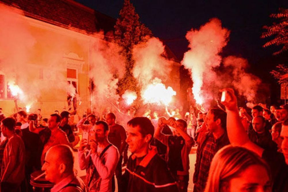 (FOTO) BAKLJADA DELIJA: Zvezda u Požarevcu proslavila 24. godine od evropske titule