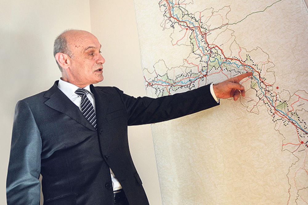 BAČEVIĆ PROLUPAO: Našao firmu koja će da kopa kanal