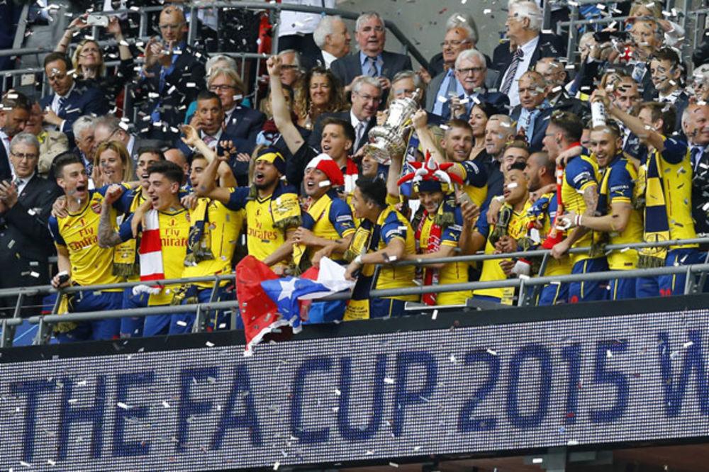 (VIDEO) SUROVE TOBDŽIJE: Arsenal pregazio Aston Vilu i osvojio rekordni 12. FA kup
