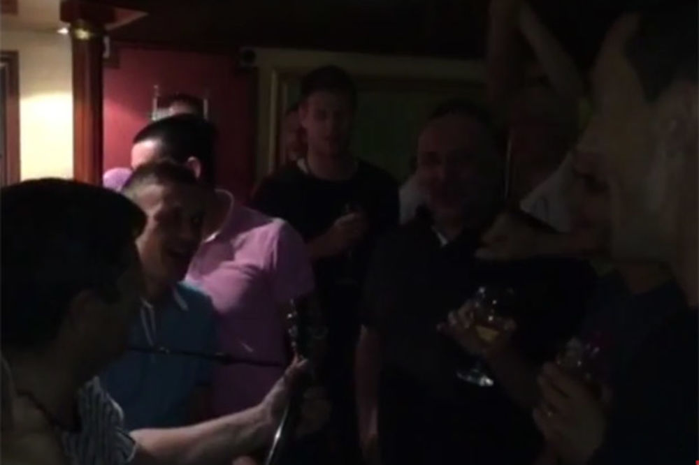 (VIDEO) SAMO U HRVATSKOJ: Klub slavio ispadanje iz lige