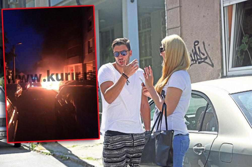 BMW U PLAMENU Vlada Vuksanović: Izgoreo bih da sam došao 20 minuta kasnije!