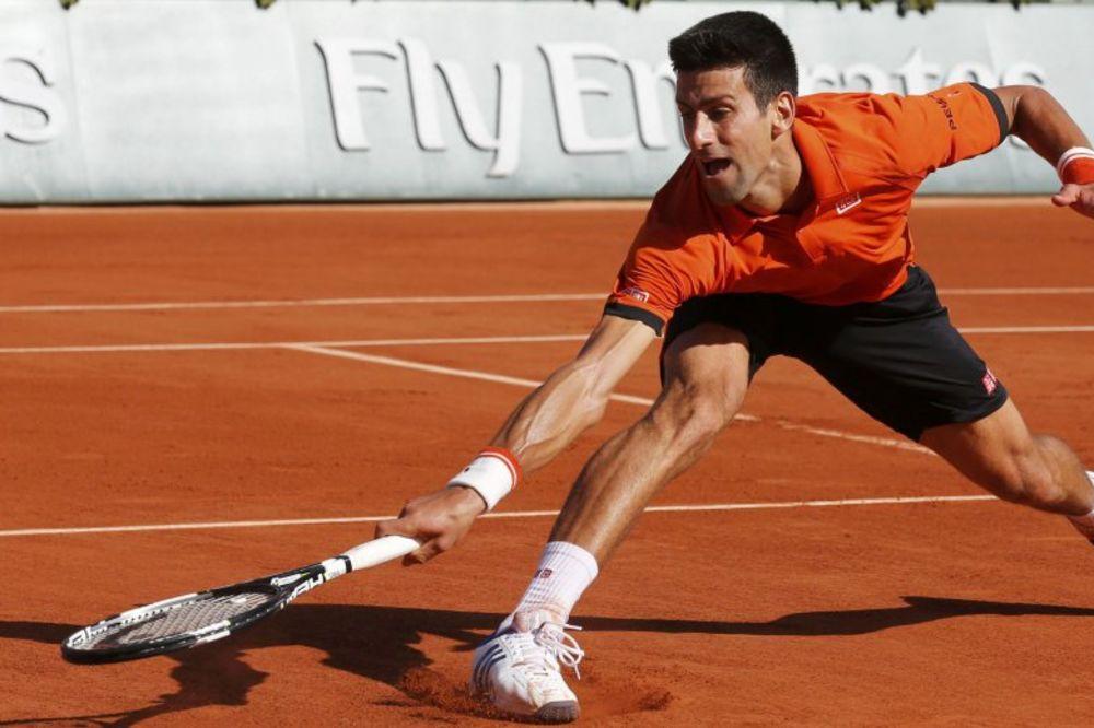 Rolan Garos, Pariz, Novak, Foto: Reuters