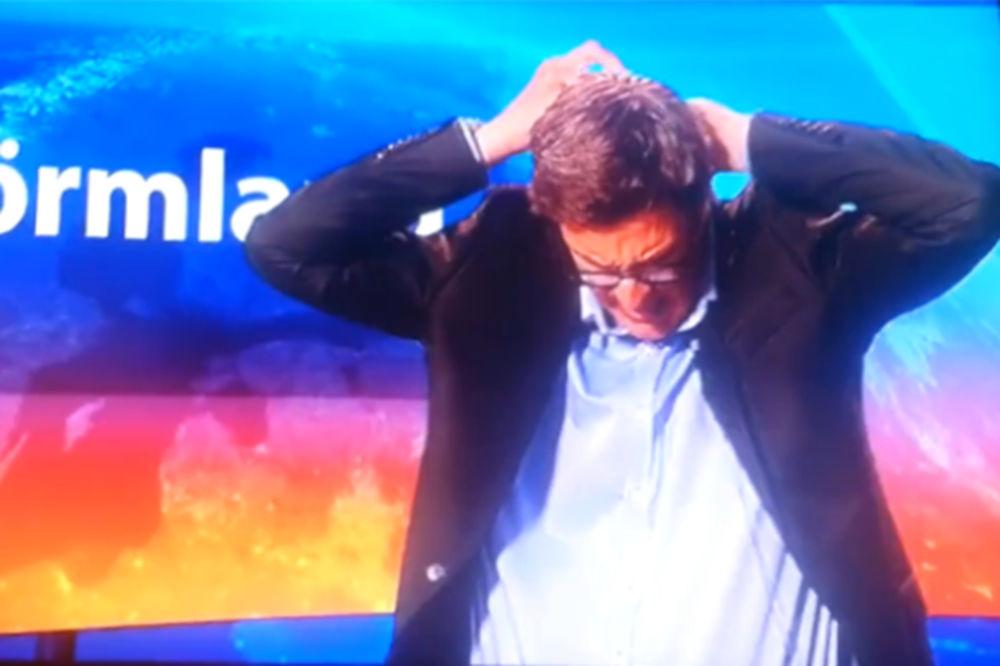(VIDEO) BLAM ZA MEDALJU: Nije znao da je u programu i za 3 minuta lupetanja uništio karijeru