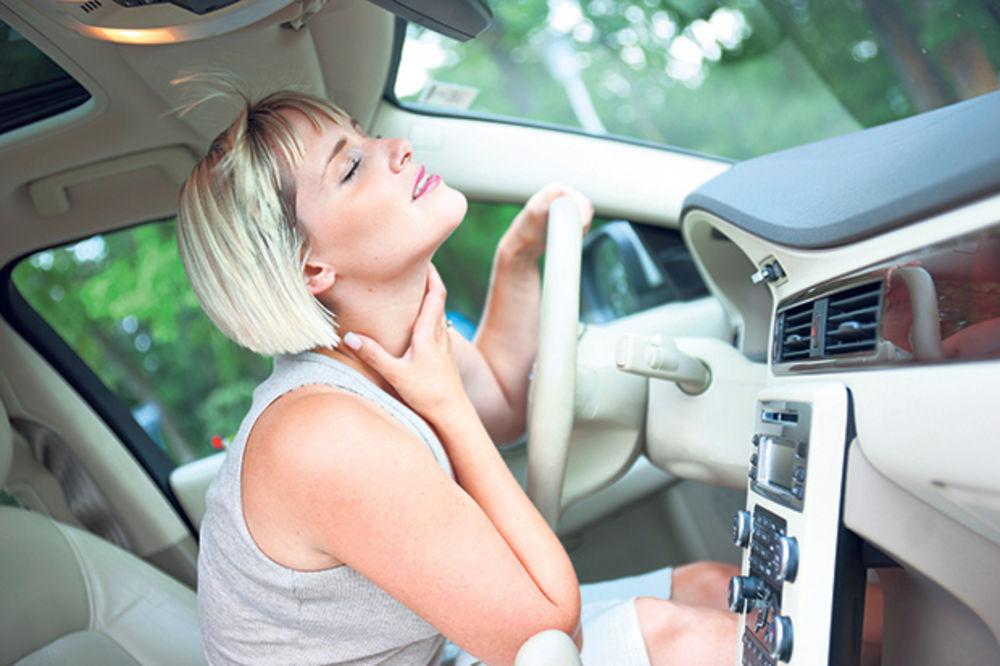 klima, auto, vrat, bol, prehlada, vrućina, foto think