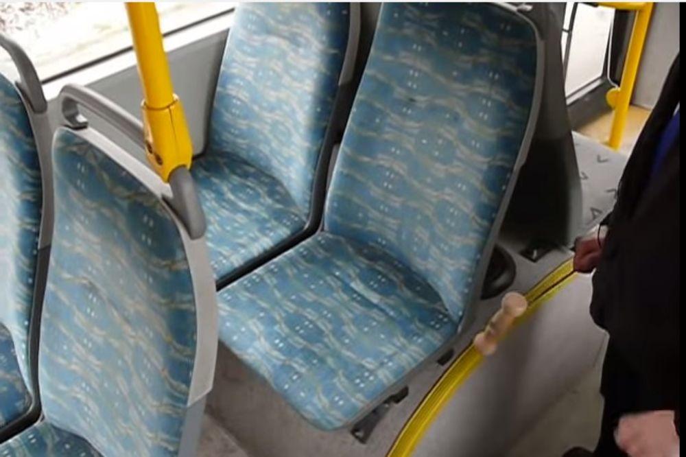 KRIJU JEZIVU TAJNU: Da li ste se ikada zapitali zašto su sedišta u autobusima šarena?