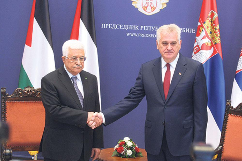 Podrška Palestine Srbiji